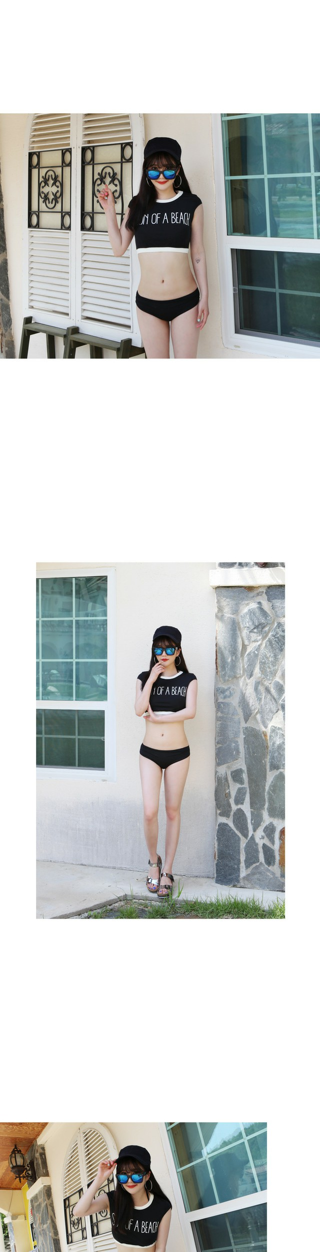 Beach sun bikini
