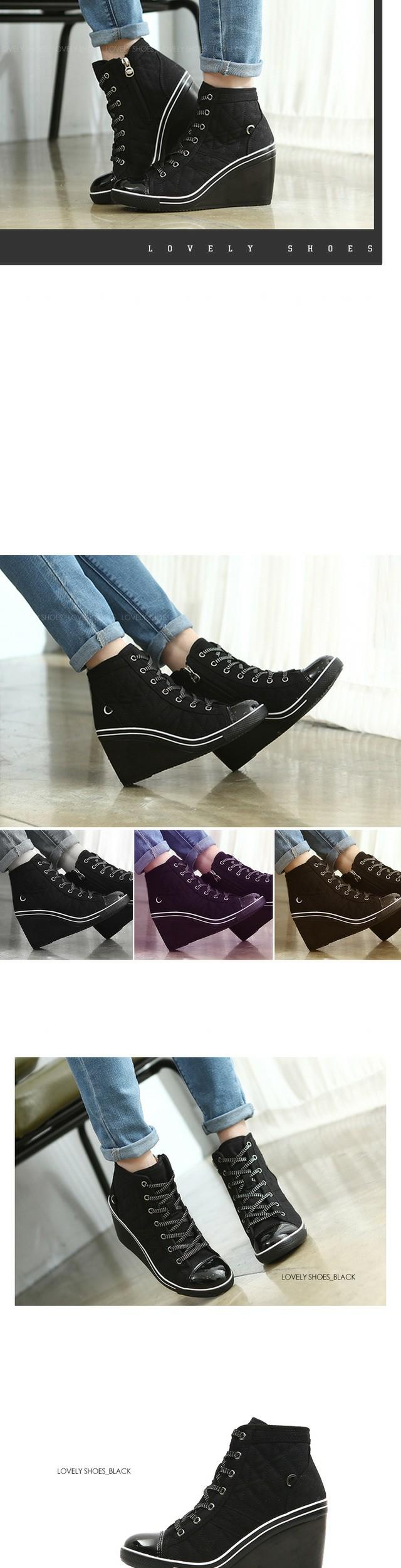 Skiie Wedge Hill Sneakers 9cm