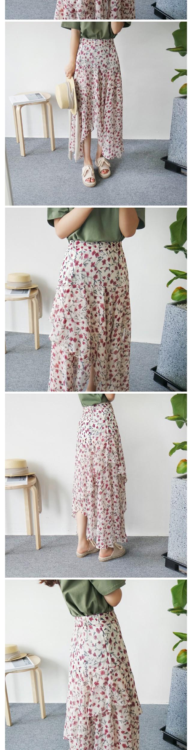 Aurora Unlined Long Skirt