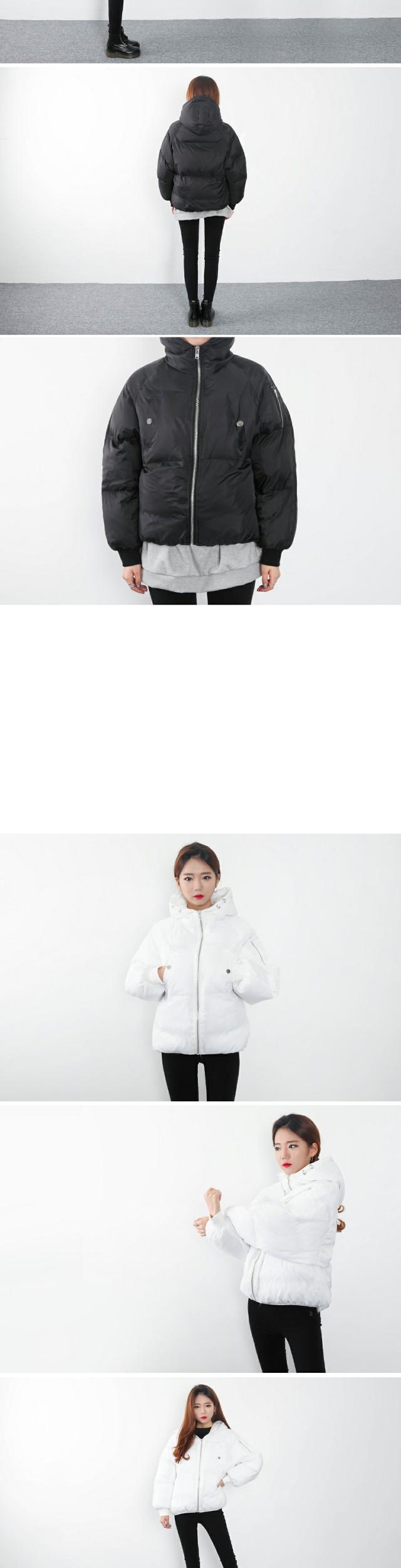 Loco hooded padding