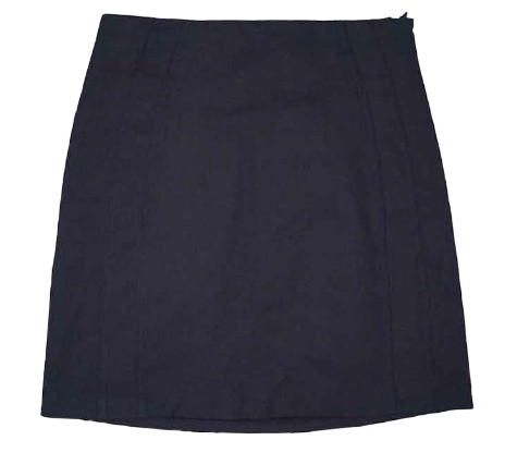 Meringue h line bending mini skirt