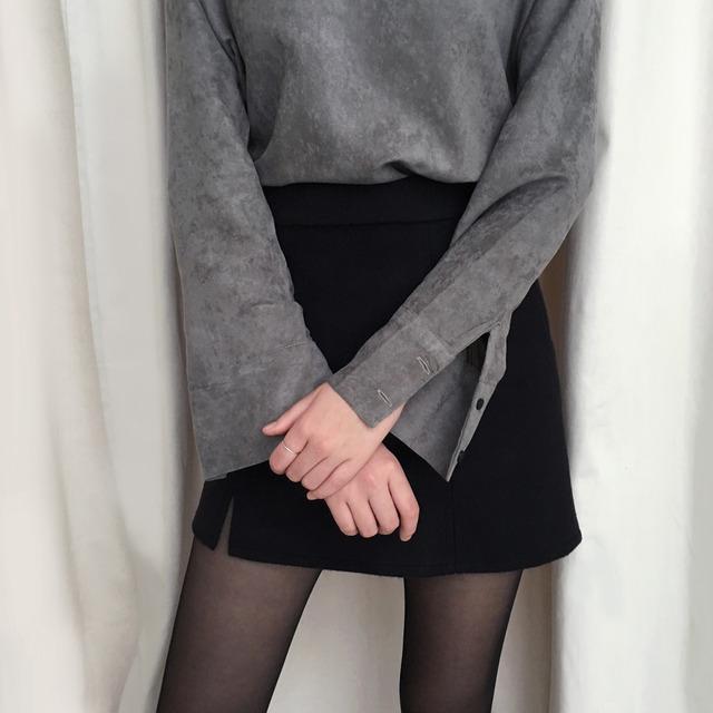 Half slit blouse
