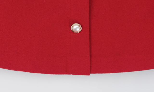 Pearl button skirt