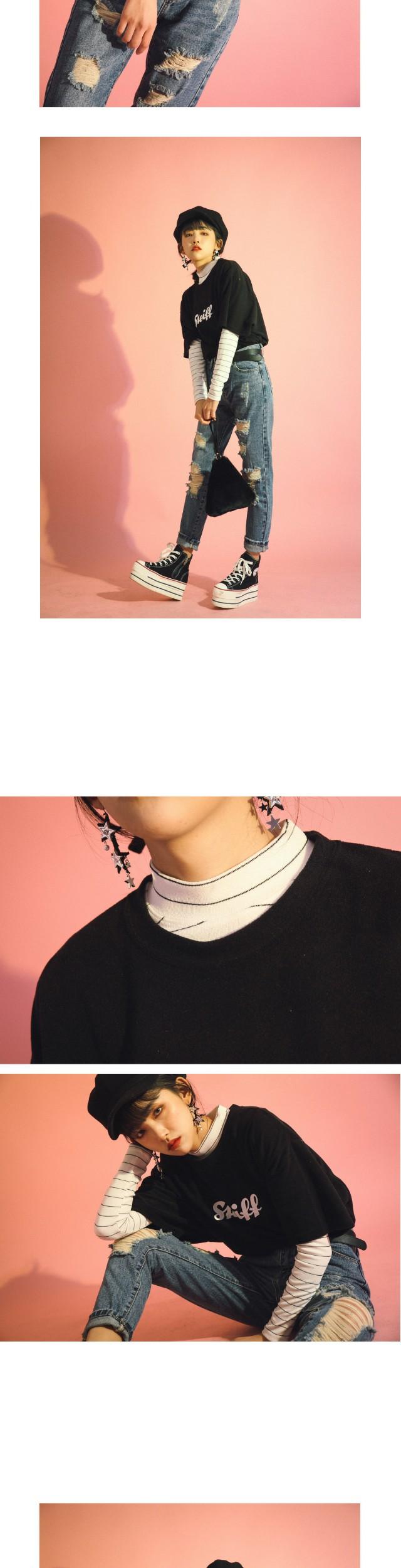 줄줄이 별 드롭 귀걸이 (acc416)