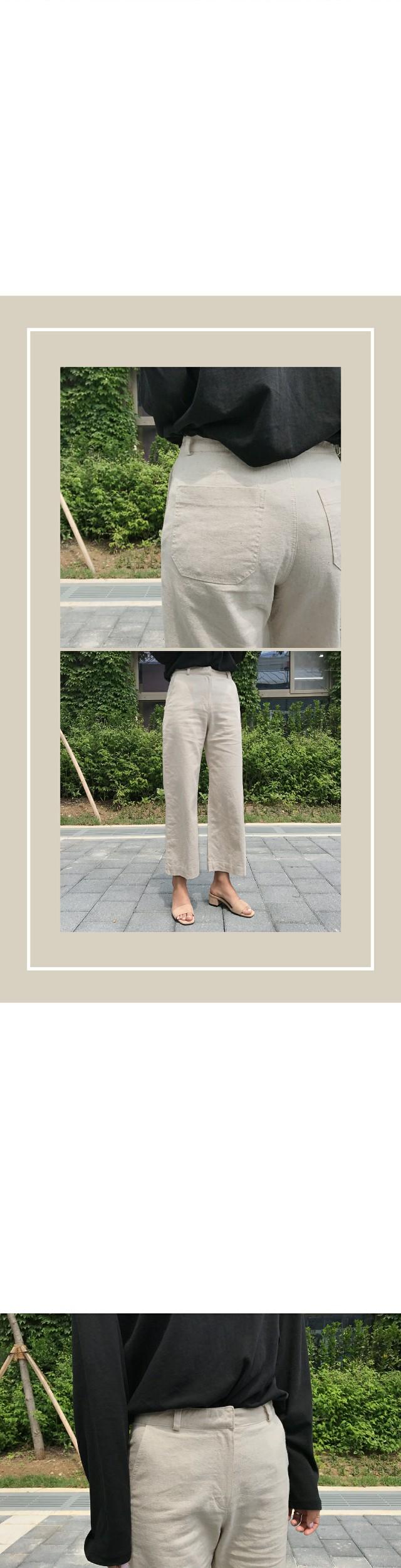 Scott-linen pants