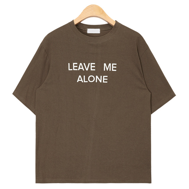leave me alone typo T (3 colors)
