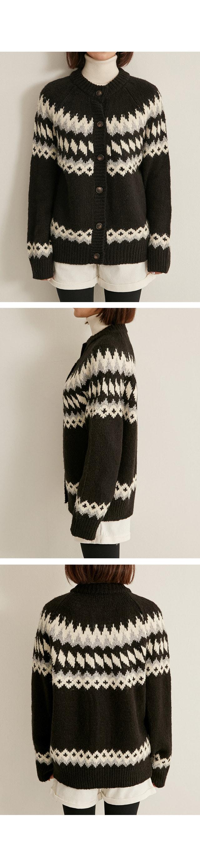 ruberry wool cardigan