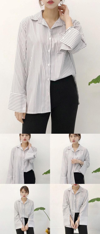 Ash Striped Shirt