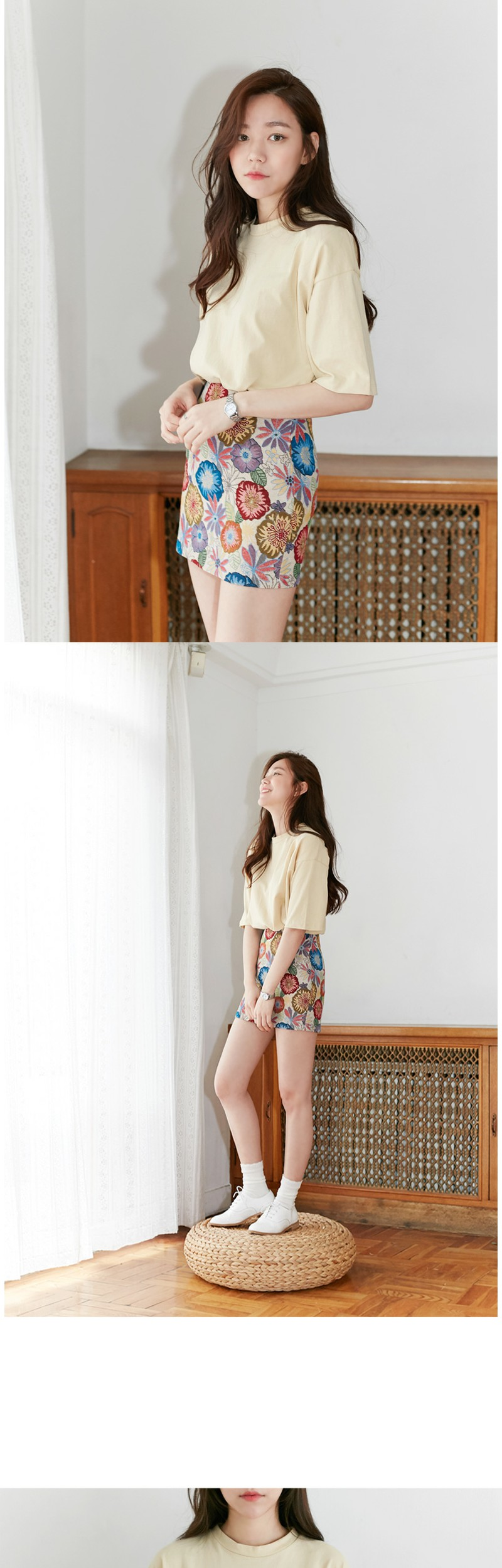 Cotton candy round T_H (size : free)