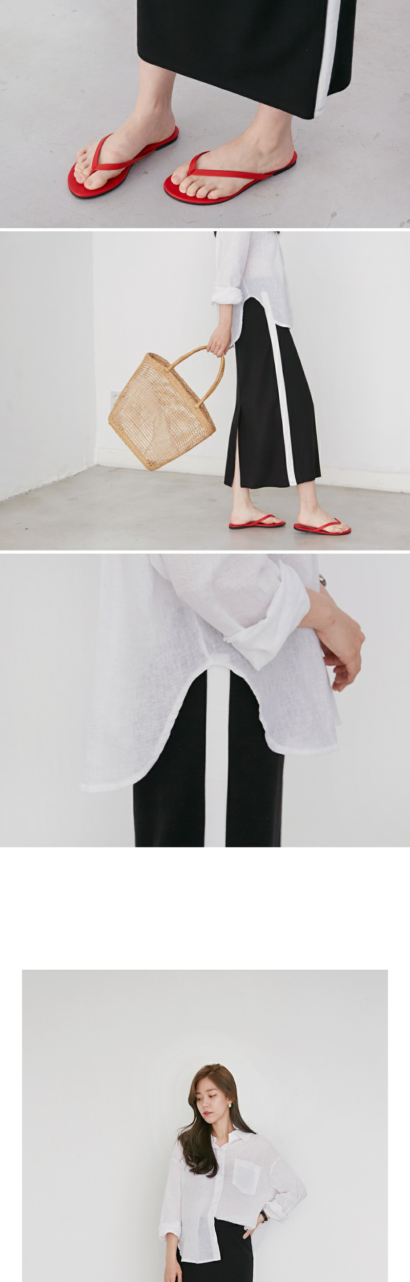 Made_bottom-111_tape tension skirt (size : free)