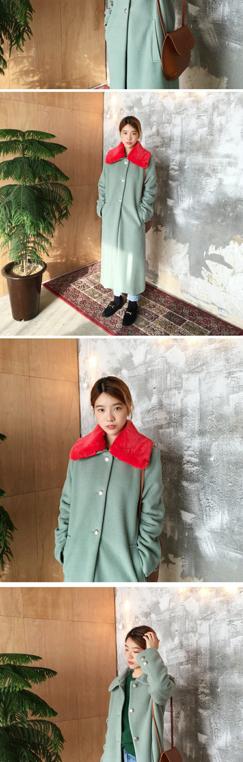 Made_outer-069_london vintage fur coat (size : free)