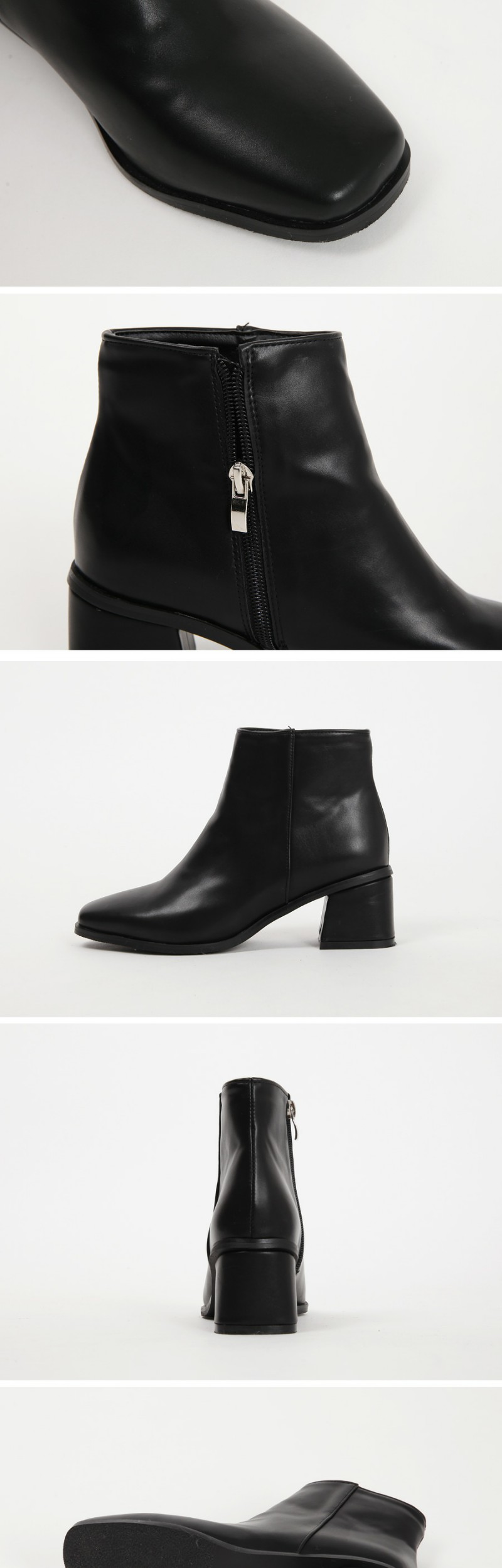 Stereo ankle boots_M (size : 225,230,235,240,245,250)