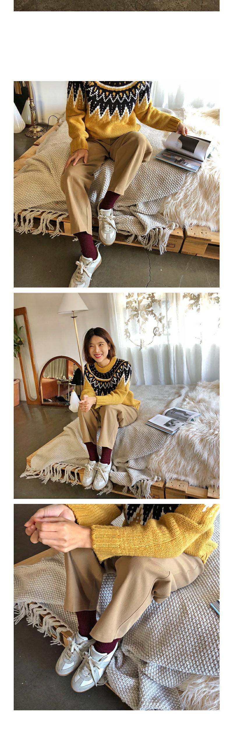 Soft wool socks_B (size : one)