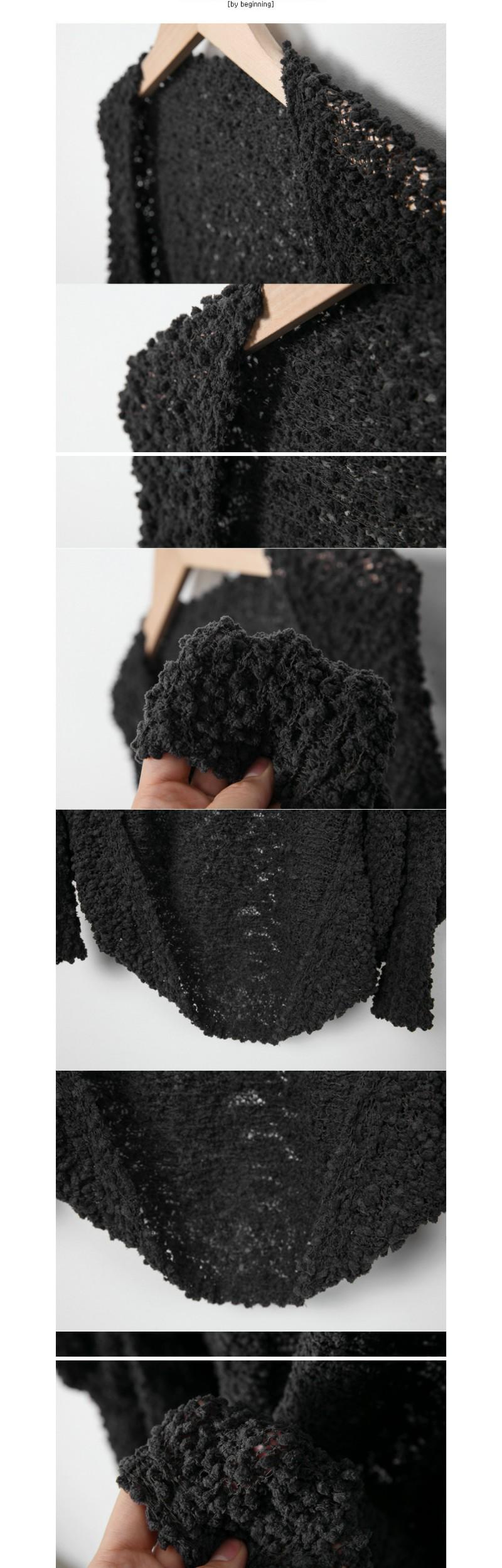 Boucle soft bolero (size : free)