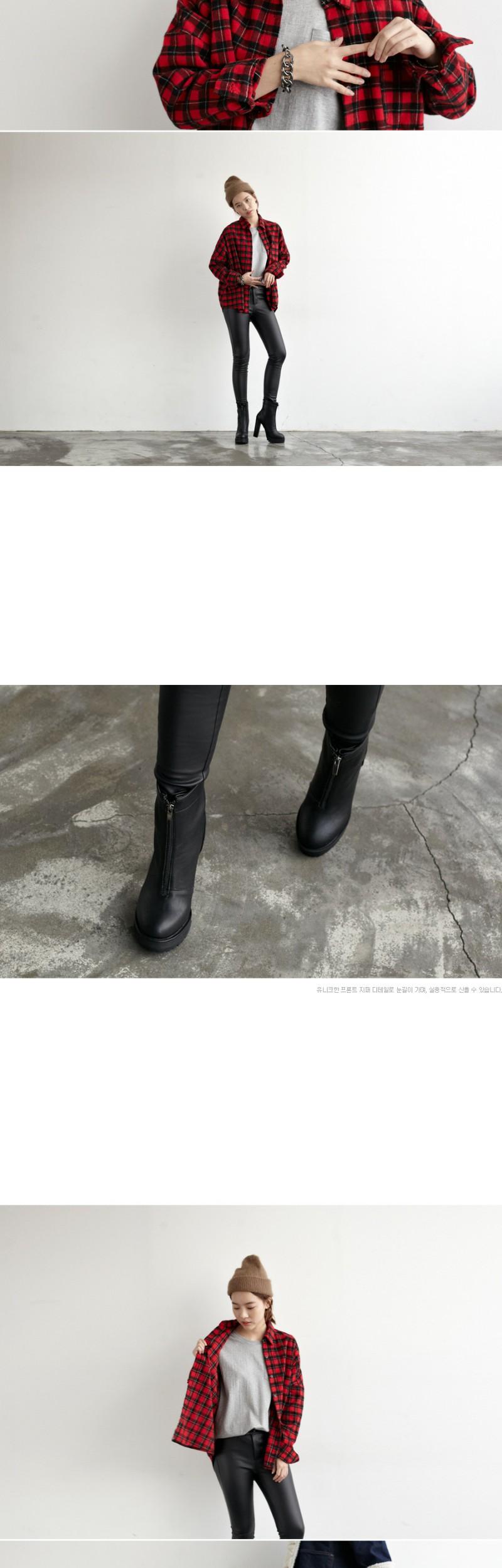 Middle_zipper platform boots