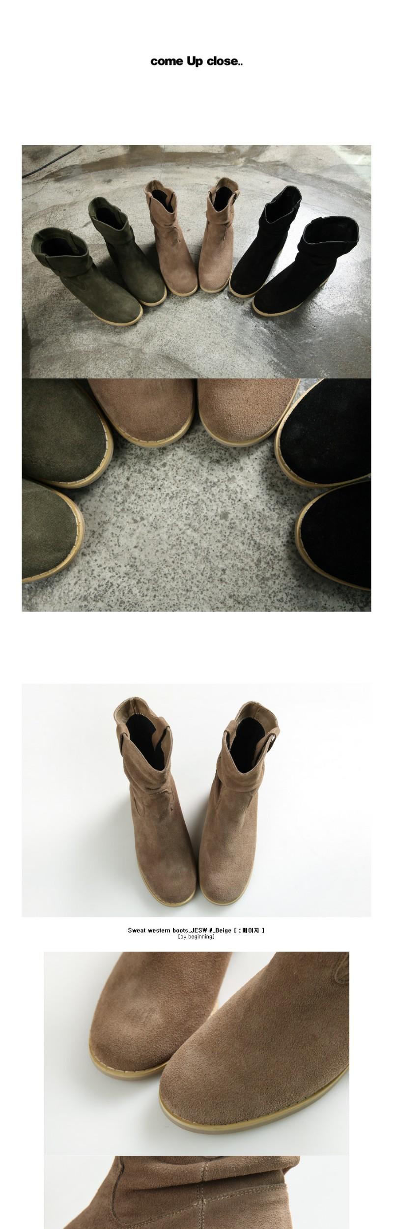 Sweat western boots_JESW