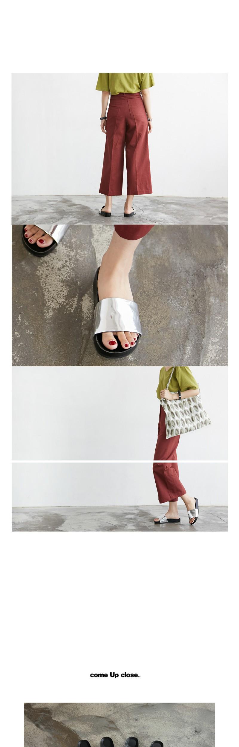 Matter point slipper