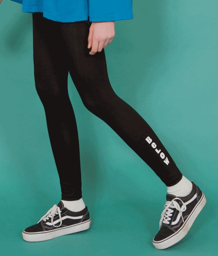 Lettering leggings