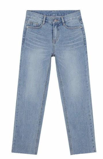 front slim washing denim pants (s, m, l)