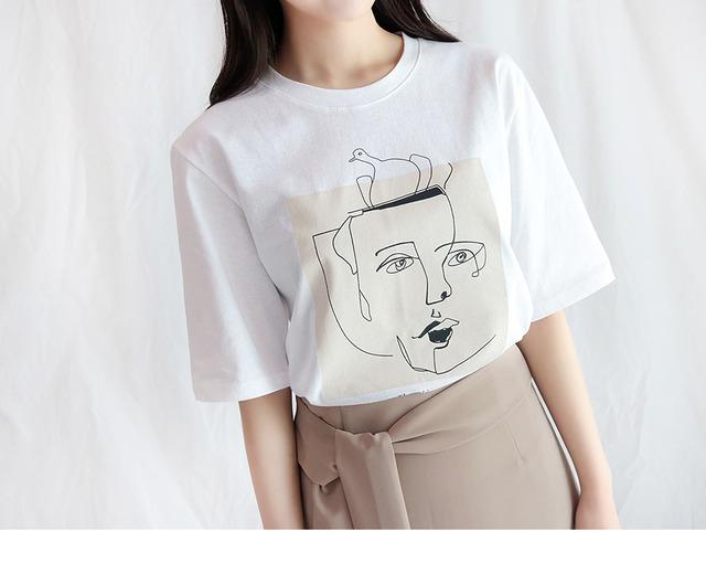 Drawing Short Sleeve Polo Shirt