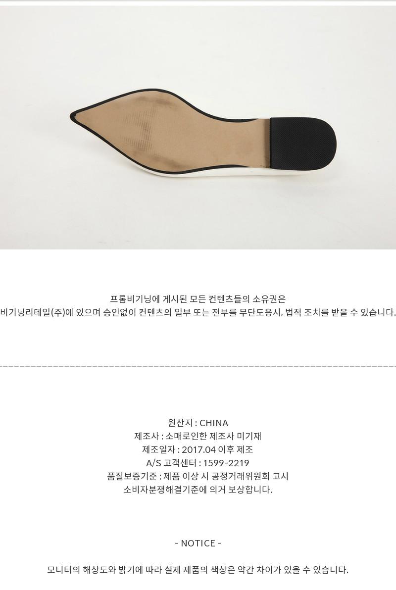 96_sharp stiletto plat shoes