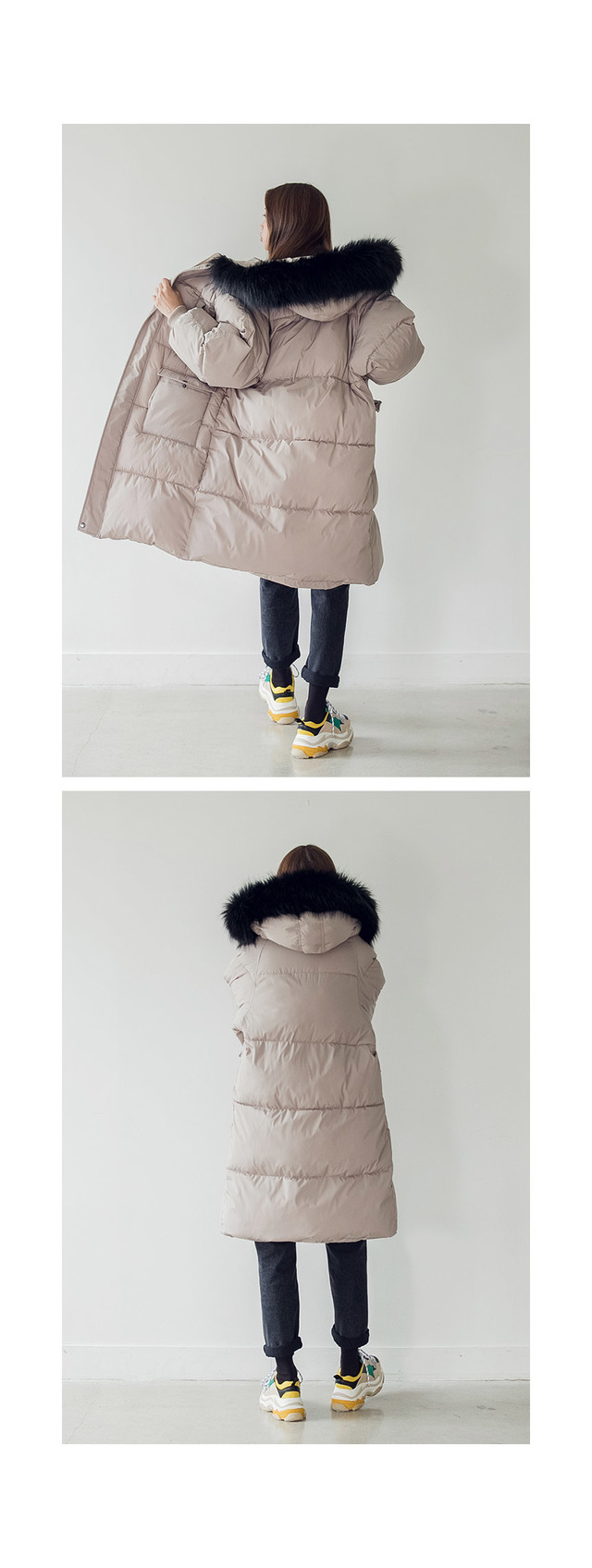 cozy long padding JP (당일출고)