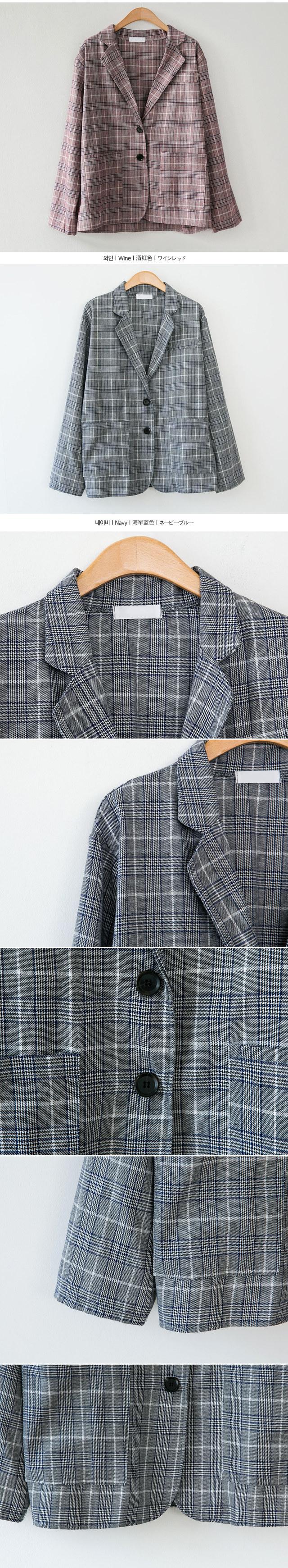 Billing check jacket