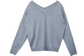 Two-way V-neck Cardigan