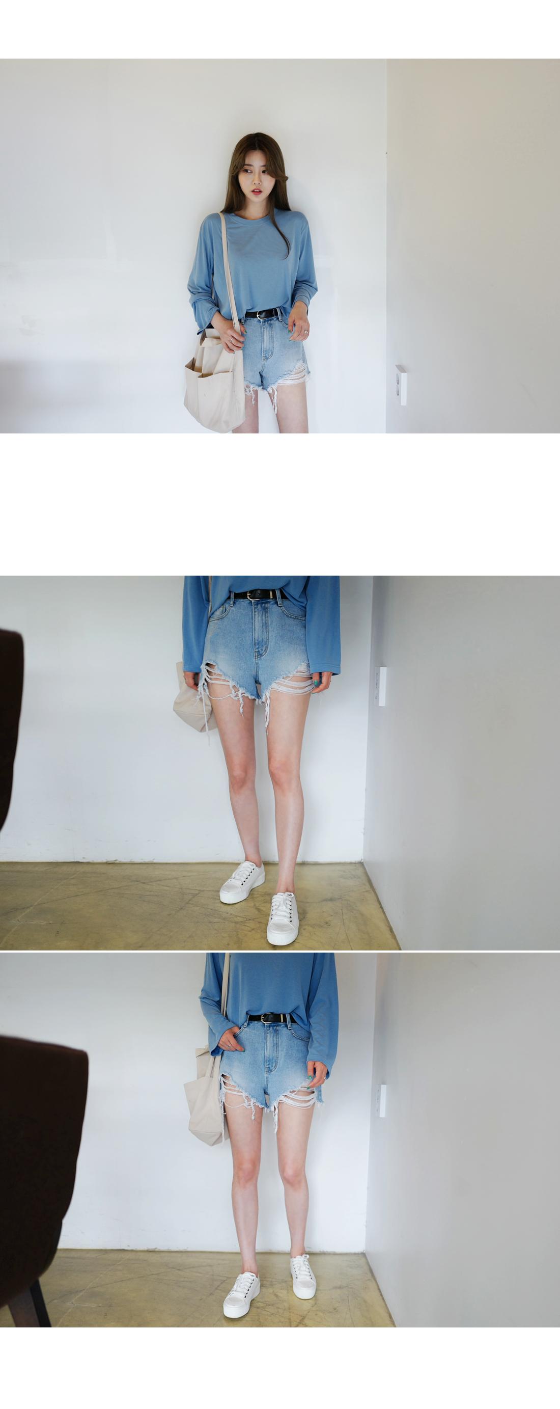 Sunblock Damage Short Pants