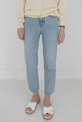 Perfect line denim pants
