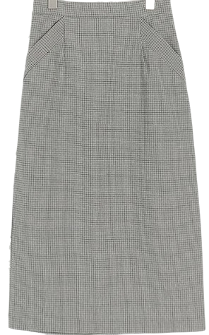 load check skirt (2colors)