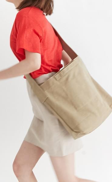 Plain cross eco bag