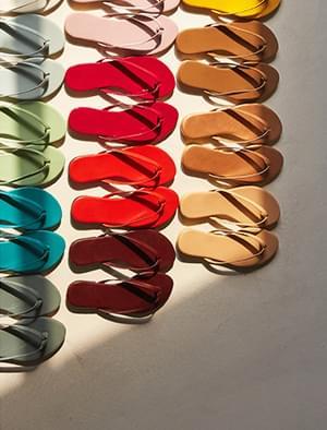 24 colors basic flip-flop