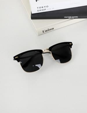 Half Gold Sunglasses