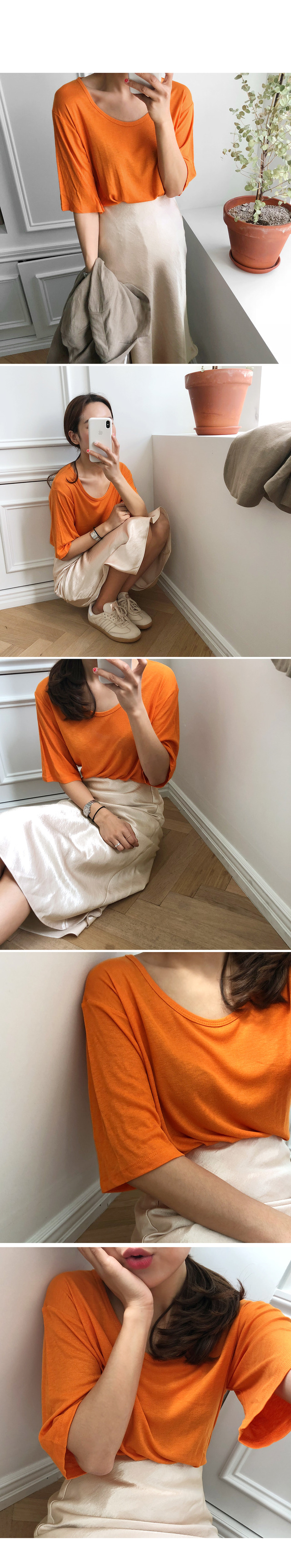 Ballerina-Chalange Golgi Tee [alone wear]
