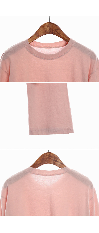 RINGBEL COLOR CROP T-shirt