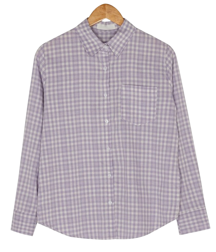 shy loose fit check shirts