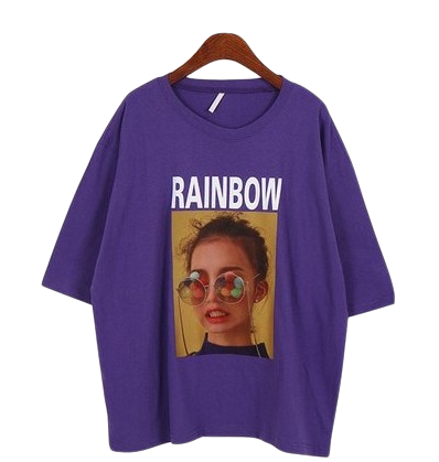 Rainbow Short Sleeves-t