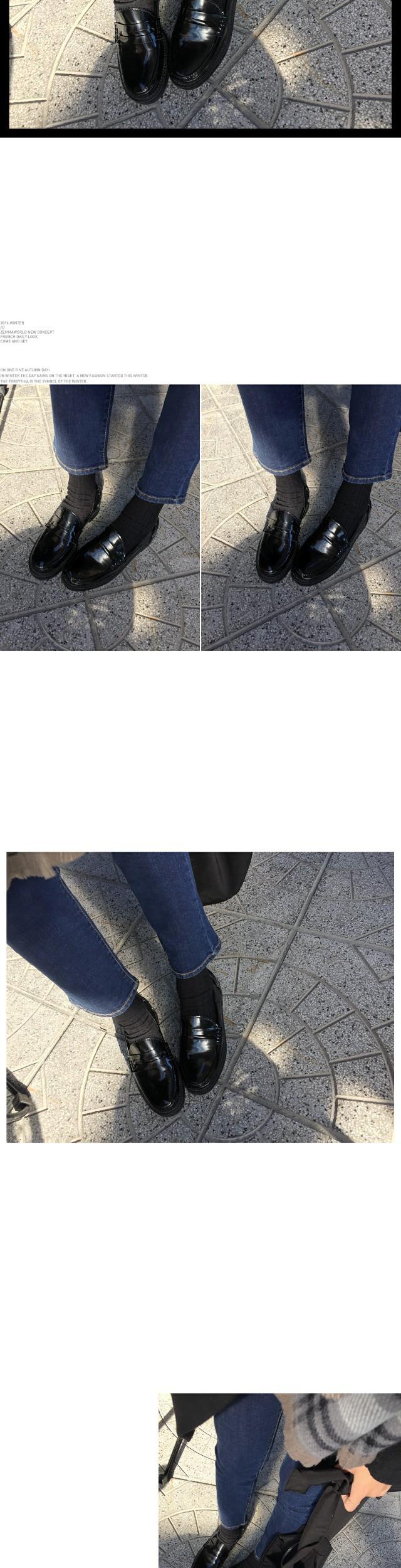 Enamel-loafers