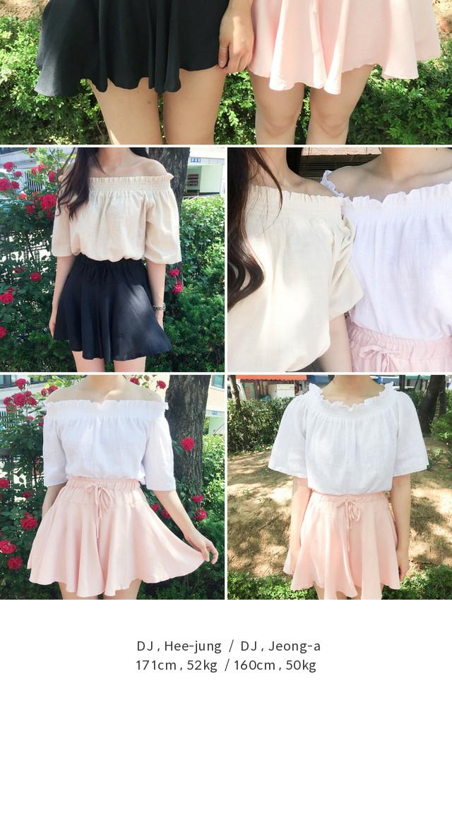 Delhi off-shoulder blouse