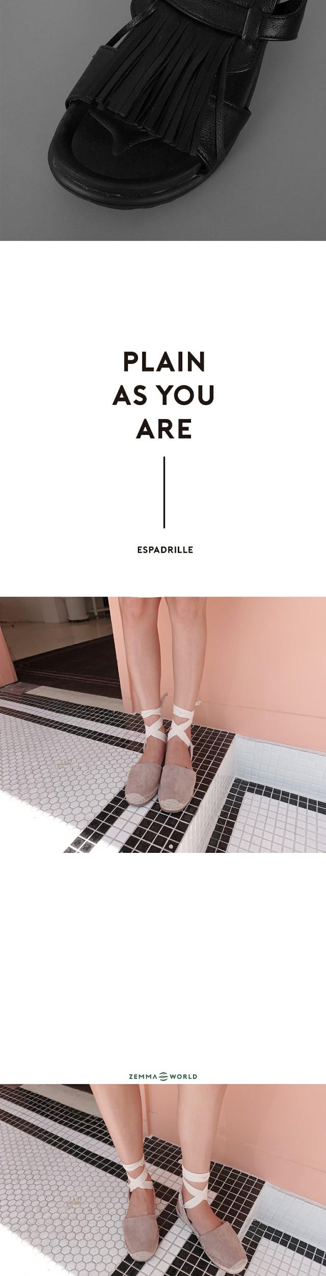 Tassel-sandals