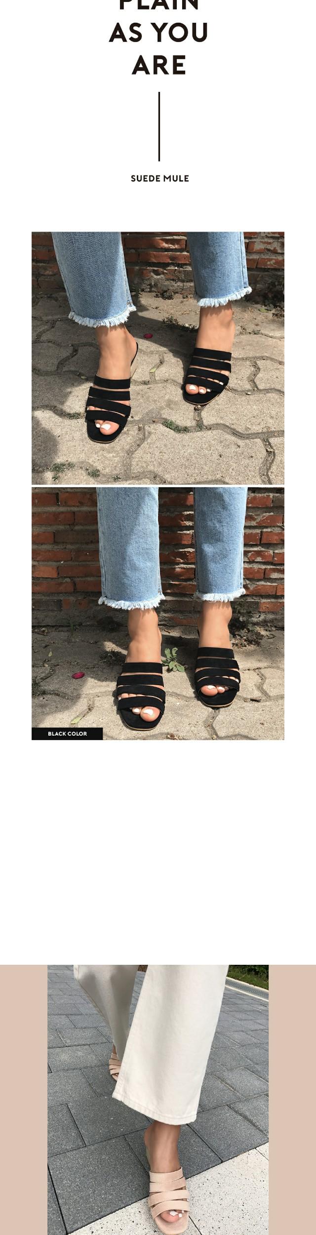 Quarter-mule shoes