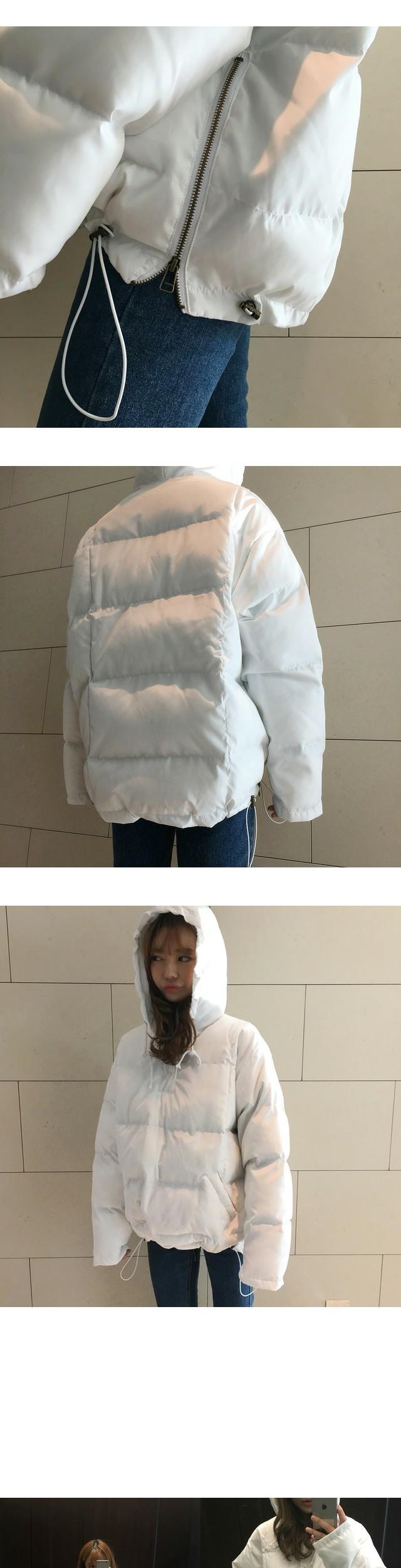 Snow hood padding