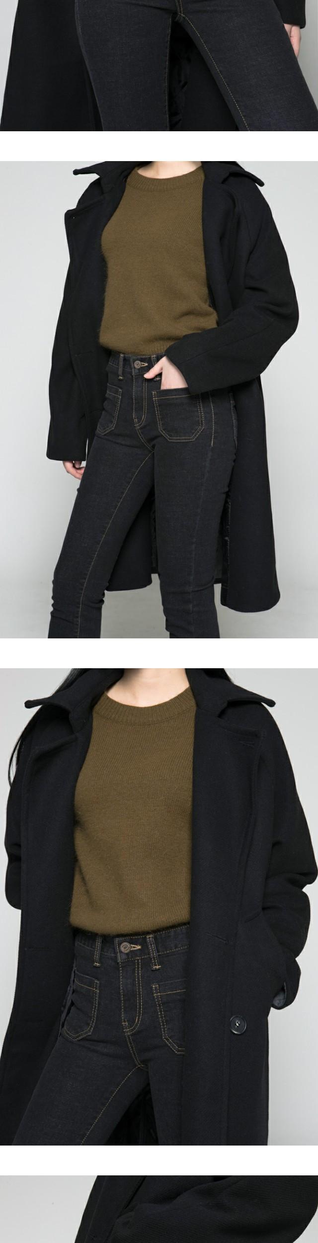 7020 Pocket brushed pants