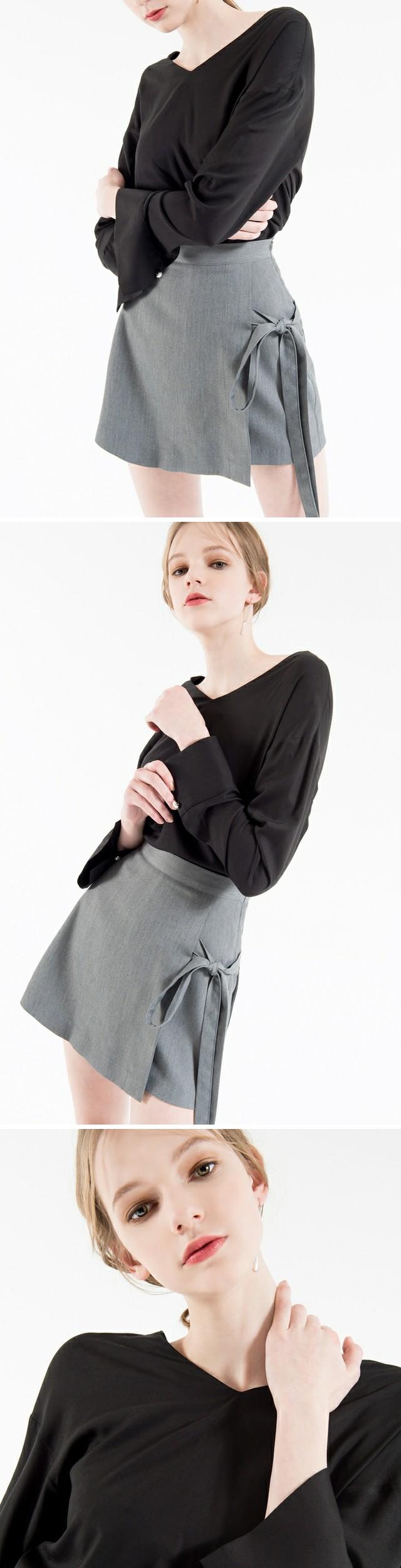 Culture Wrap Skirt Pants