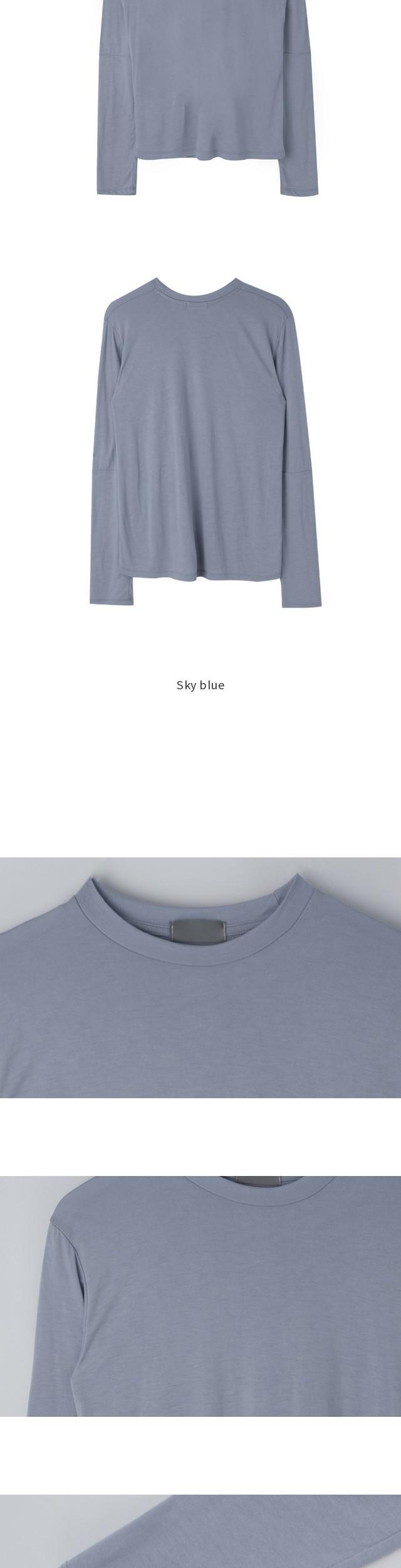 Basic incision polo shirt
