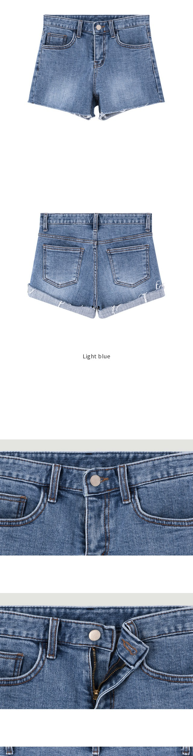 514 Megan denim shorts