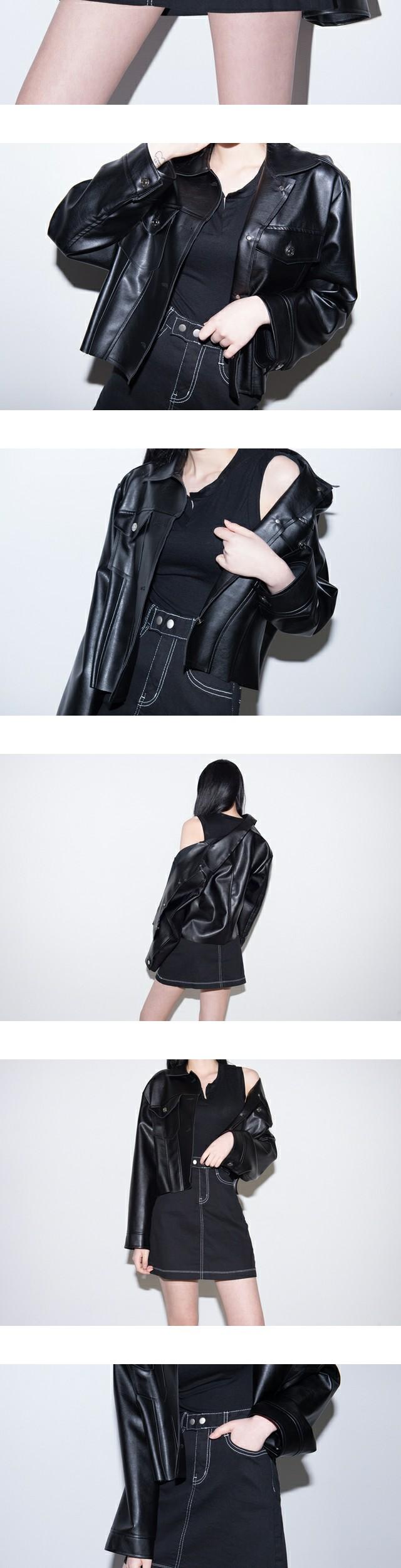 Acti Leather Jacket