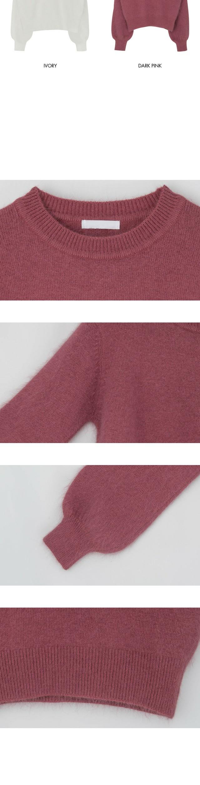 Round Angora Knit