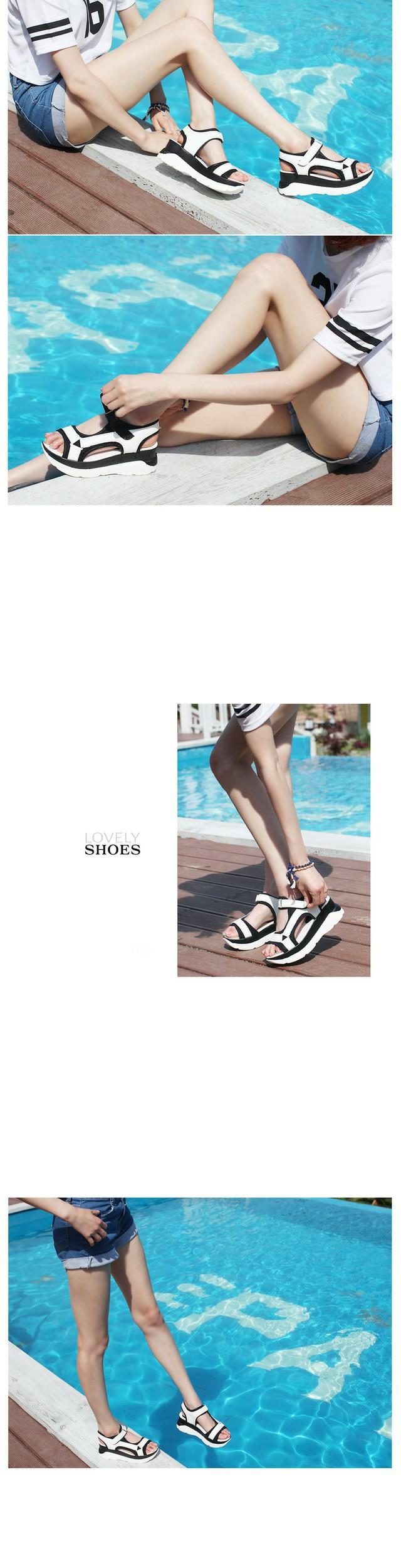 Rudo strap sandals 5.5cm